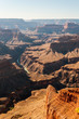 Vertical view of famous Grand Canyon