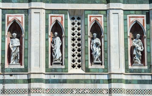 Photo  Florence 27 jul 2014 - view of cathedral SANTA MARIA DEL FIORE i