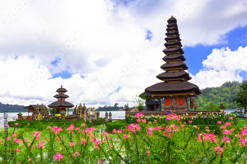 Foto op Canvas Indonesië Pura Ulun Danu temple ,Bali Indonesia