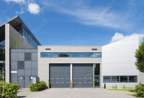 Staande foto Industrial geb. industrial unit