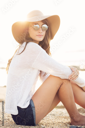 Fotografie, Obraz  Fashion portrait of young woman