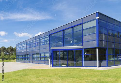 Obraz modern office building - fototapety do salonu