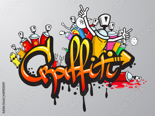 drukowane-sa-postacie-graffiti
