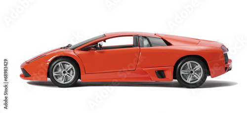 Collectible toy model sport car
