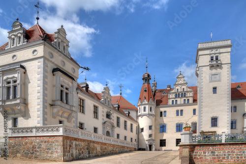 Photo  Einfahrt Schloss Boitzenburg