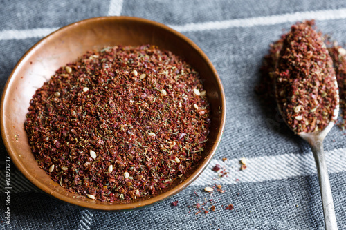 Photo  Za'atar (Middle Eastern spice mixture)