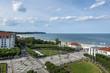 Aerial view of Sopot, tourist resort destination in Poland