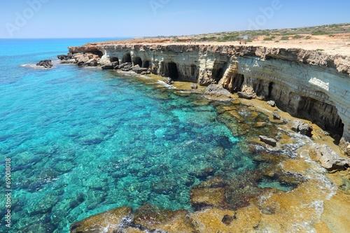 Fotobehang Cyprus Cyprus - Mediterranean sea Sea Caves near Ayia Napa