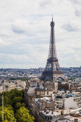 Papiers peints Paris Eiffelturm