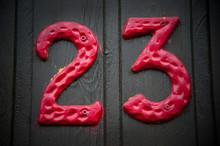 House Number Twenty Three 23