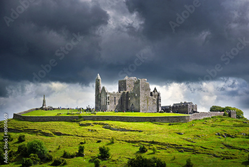 Fotografie, Obraz  Rock of Cashel – St. Patrick's Rock, County Tipperary, Ireland