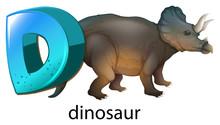 A Letter D For Dinosaur