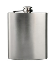 Stainless Hip Flask Isolated O...