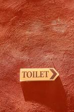 Toilet Retro Vintage Grunge Poster