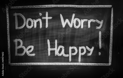 Don't Worry Be Happy Concept Poster