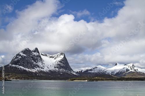 Staande foto Scandinavië Efjorden