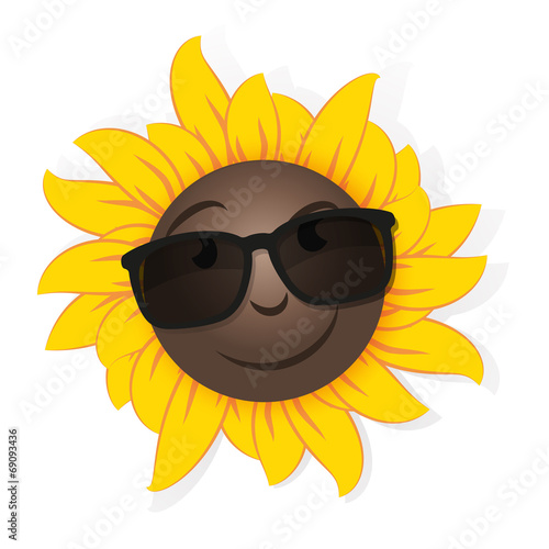 26aebede58 sunflower sunglasses - Buy this stock vector and explore similar ...