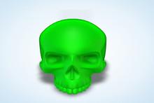 Olive Green Skull Series II