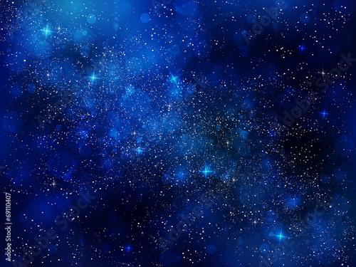 Fototapeta 夜空 星 背景 obraz