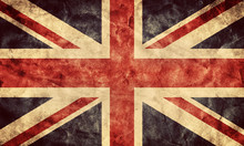 The United Kingdom Grunge Flag...