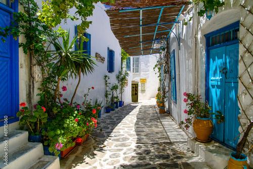 Photo Ruelle de Chora à Amorgos