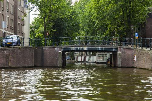 Photo  Amsterdam, Netherlands. Typical urban view