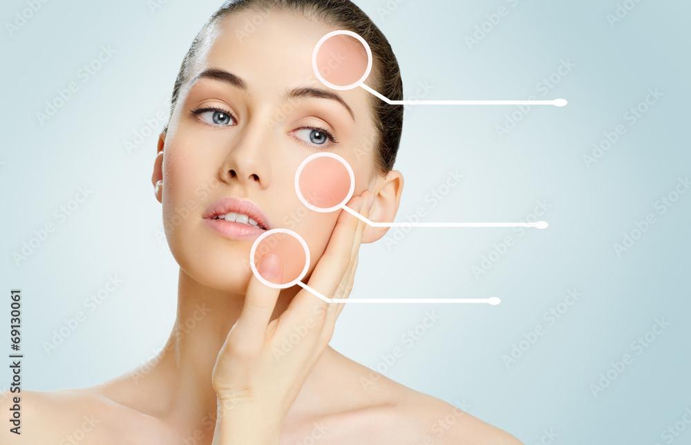 Fototapety, obrazy: healthy face