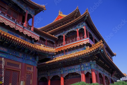 Deurstickers Beijing Lama Temple Beijing