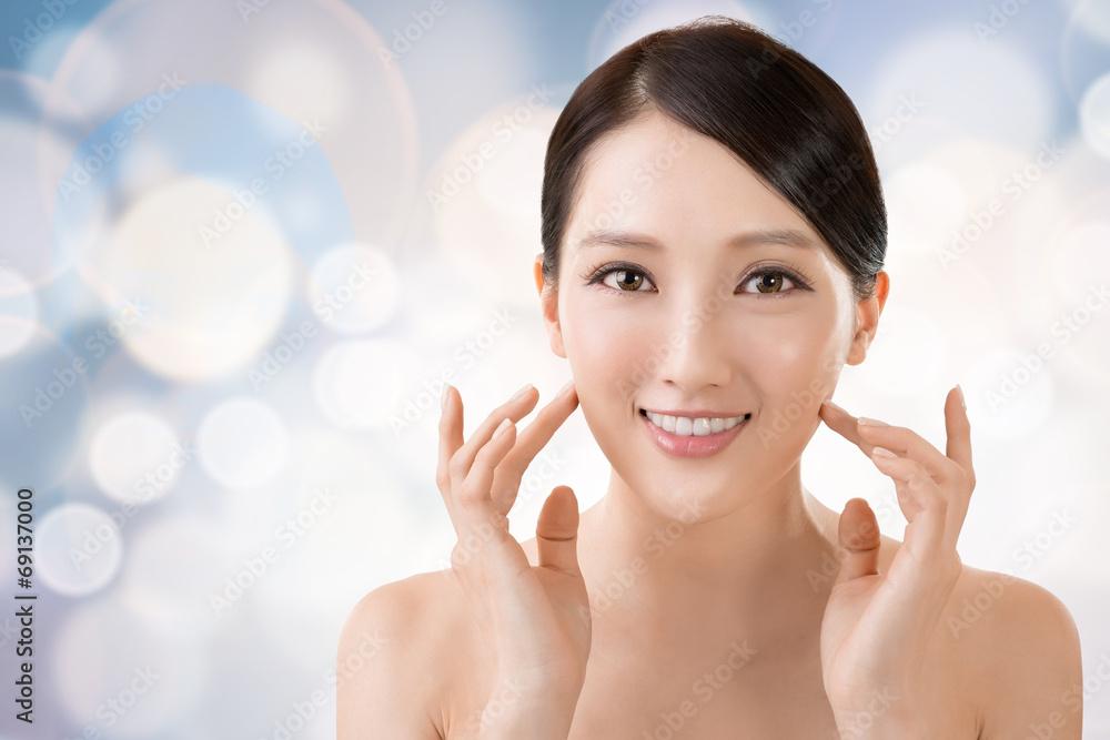 Fototapeta Asian beauty face