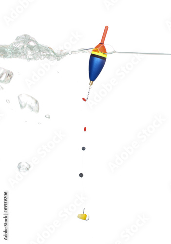 Fotografie, Obraz  Bobber with a hook