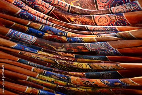 Photo  Pile of boomerangs