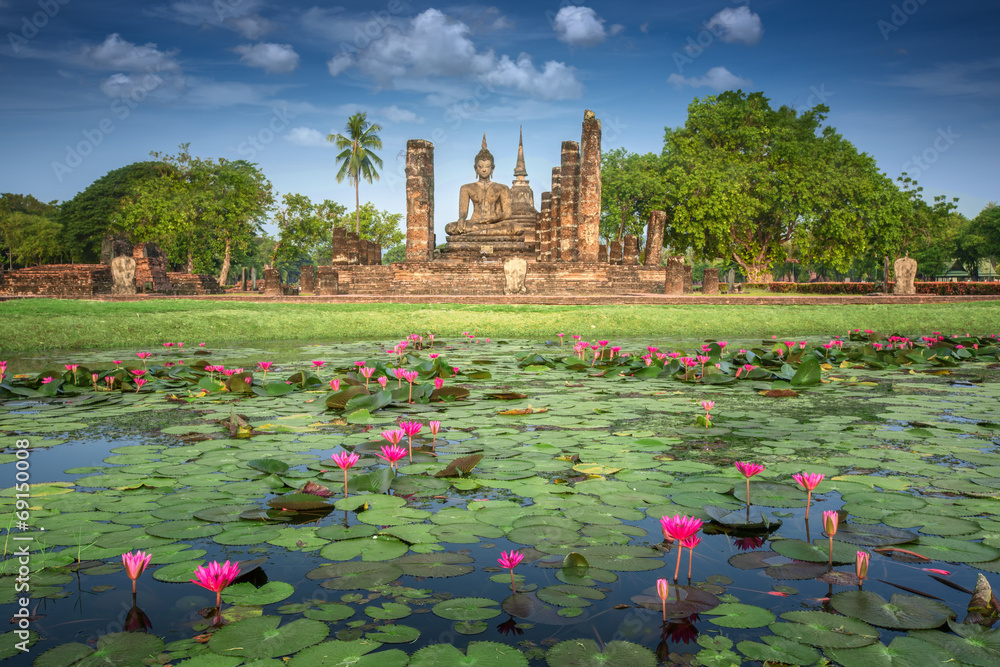 Fototapety, obrazy: Sukhothai historical park
