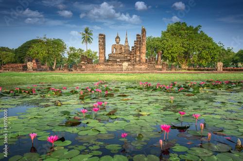 Obraz Sukhothai historical park - fototapety do salonu