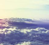 Fototapeta Fototapeta z niebem - Above clouds