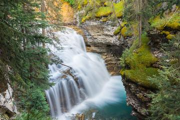 Fototapeta Johnston Canyon Upper Falls