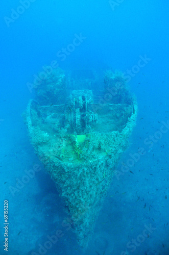 Photo Stands Shipwreck Ghostly Ship wreck