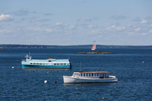 Ferries And Schooner