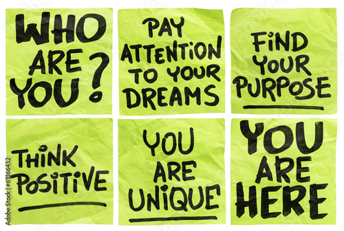 question and motivational phrases Wallpaper Mural