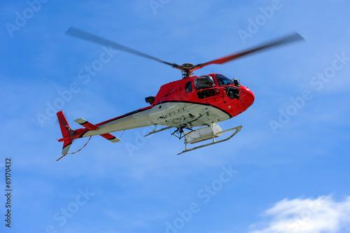 Fotografie, Obraz  Elicottero in volo