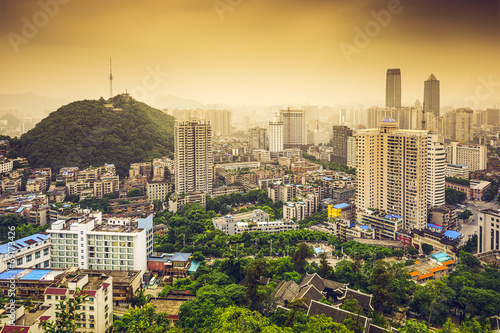 Foto op Aluminium Beijing Guiyang, China Downtown Cityscape