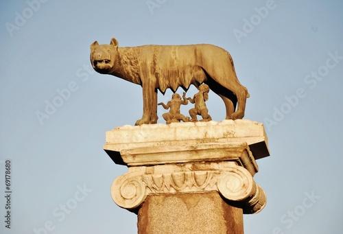 Fotografija  Rome,Capitoline she-wolf
