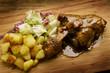 Stinco di maiale al forno Baked shin of pork 烤猪肉