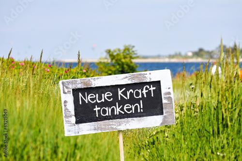 Fotografía  neue Kraft tanken