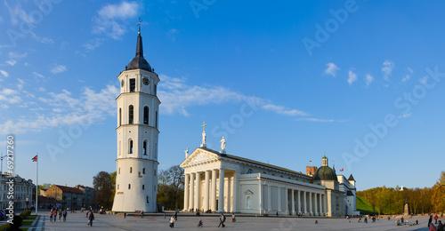 Vilnius. The Cathedral Square