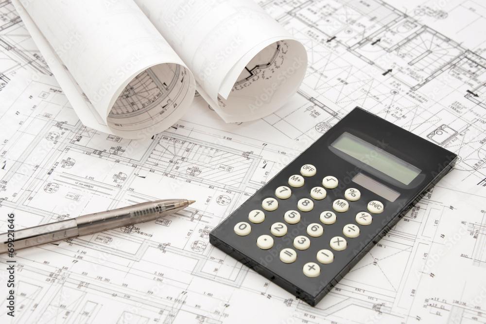 Fototapety, obrazy: 受託設計イメージ―予算と見積もり