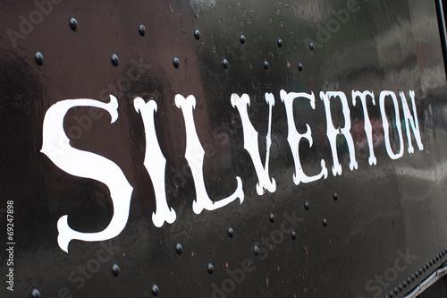 Fotografie, Obraz  Vintage steam train / Silverton (Colorado)
