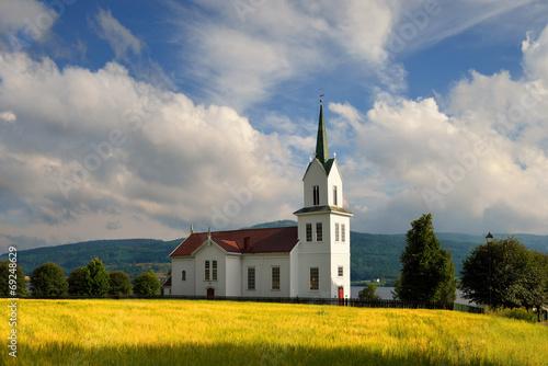 Mały kościół drewniany , Norwegia