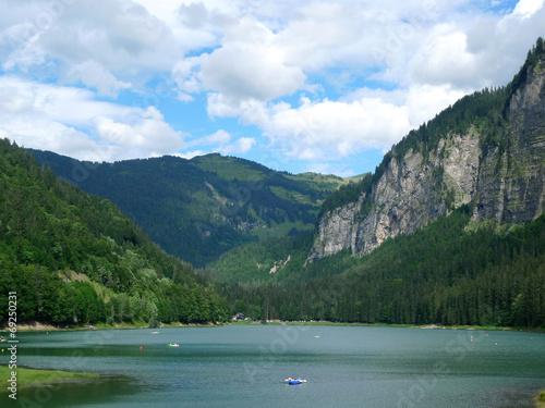Lac de Montriond Canvas-taulu