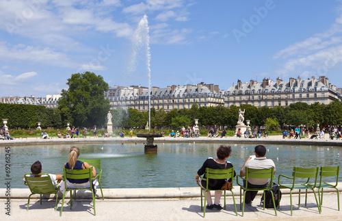Jardin Des Tuileries In Paris Buy This Stock Photo And Explore