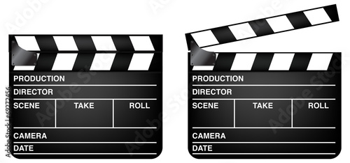Fotografia Clapper Board